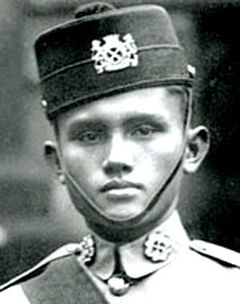 A man who died defending Singapore.